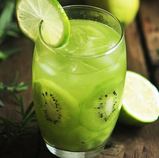 Hình ảnh nước ép kiwi
