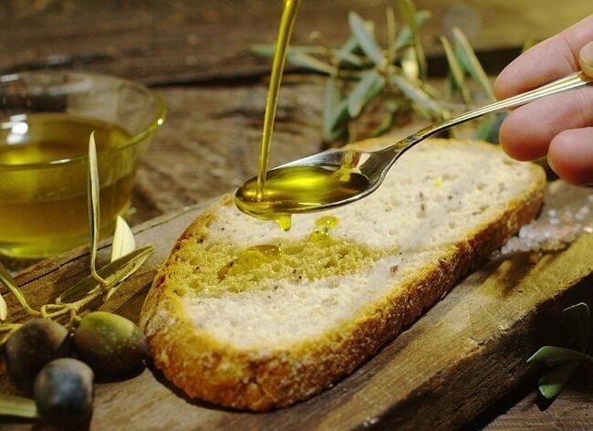 Lưu ý khi ăn dầu oliu