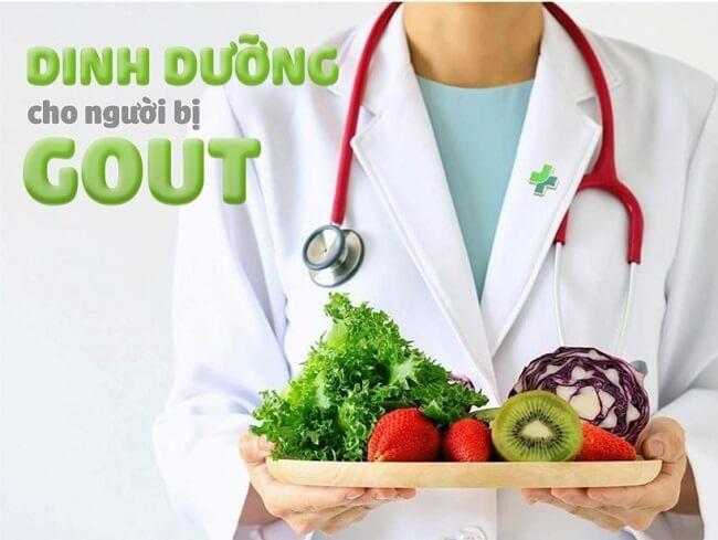Chế độ ăn cho người bệnh gout
