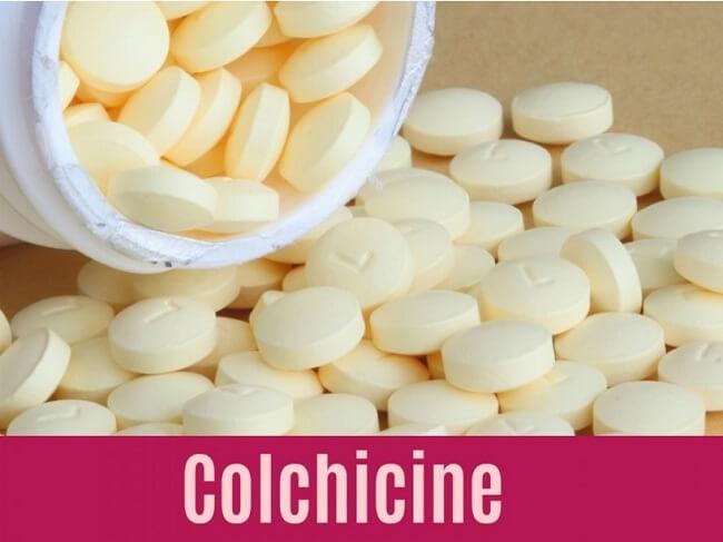 Thuốc colchicine được chỉ định khi người bệnh không sử dụng được NSAI và steroid
