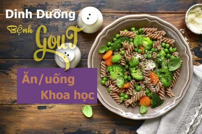 Cung cấp đầy đủ chất dinh dưỡng cho người bệnh gout